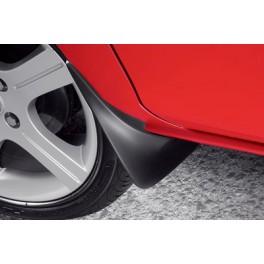 Chlapacze przednie gumowe, czarne, Mazda 2 DY (Facelift),