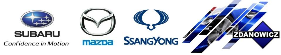 Części i akcesoria Subaru, SsangYong, Mazda